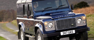 Land Rover Defender 1 Рестайлинг