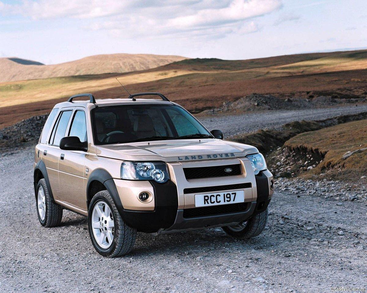 Land Rover Freelander 1 Рестайлинг