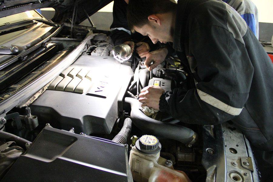 диагностика двигателя land rover