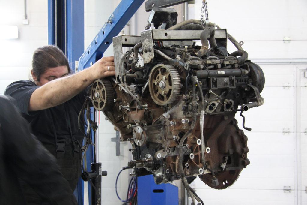 ремонт бензиновых двигателей land rover