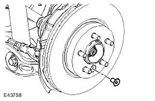 замена ступицы land rover