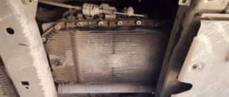 масло в акпп land rover