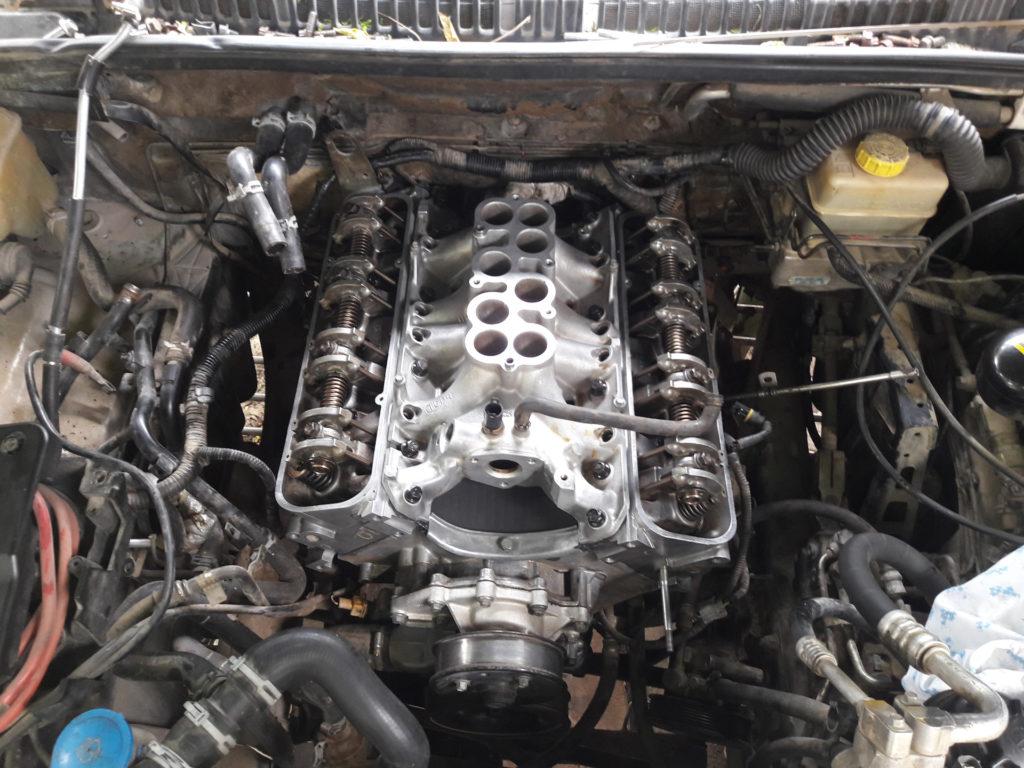 капитальный ремонт двигателя land rover