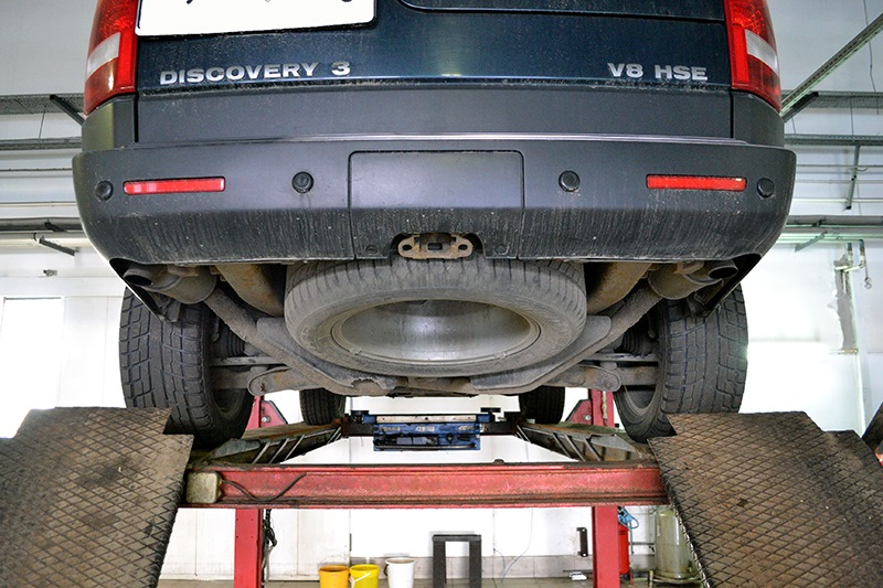 диагностика подвески land rover