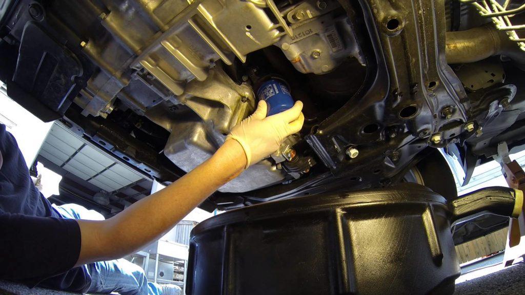 замена масла в двигателе land rover