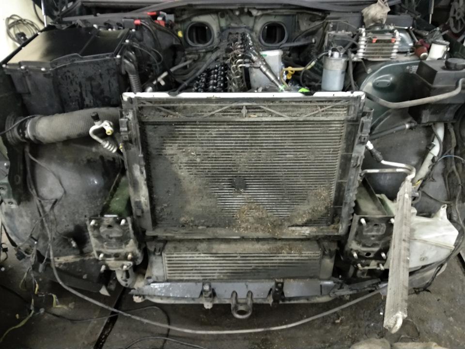 мойка радиатора land rover