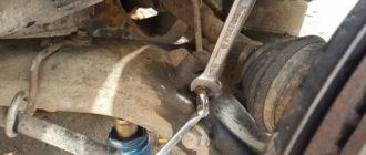 замена рулевых наконечников land rover
